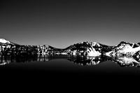 Reflections of Crater Lake, Crater Lake, Oregon